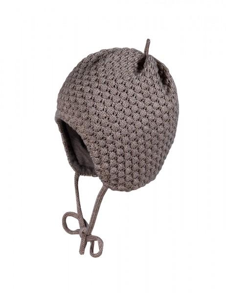 BABY-Mütze, Struktur Nuss Pips, ausgenäht