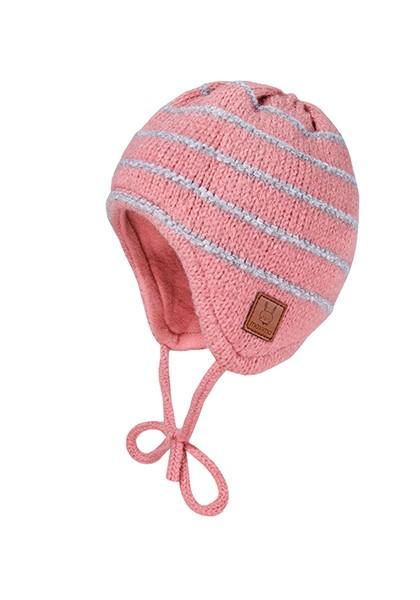 BABY-Mütze ausgenäht Ringel