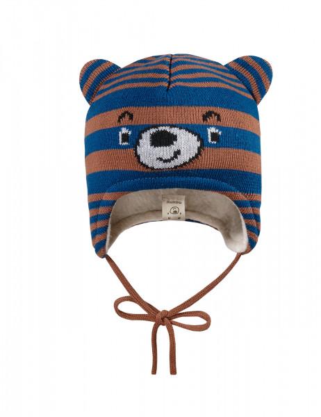 BABY BOY-Mütze Teddygesicht Ohren