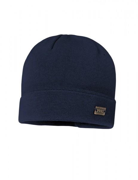 MAX-Mütze, Umschlag Strick, doppelt, Basicfarben