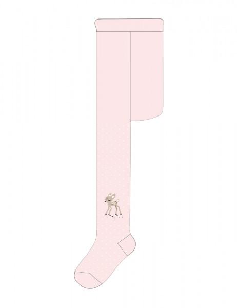 BABY GIRL-Strumpfhose, Reh glatt