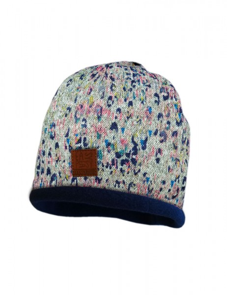 KIDS GIRL-Beanie, middle Ethno
