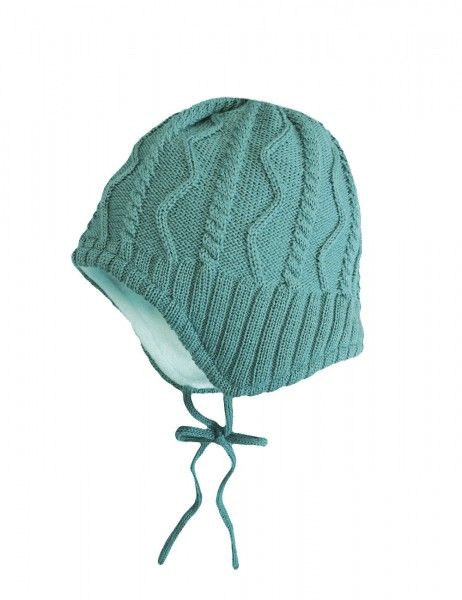 MINI-Mütze, ausgenäht Struktur, einfarbig