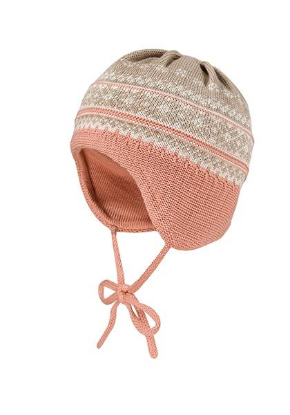 BABY-Mütze ausgenäht klassisches Jacquard
