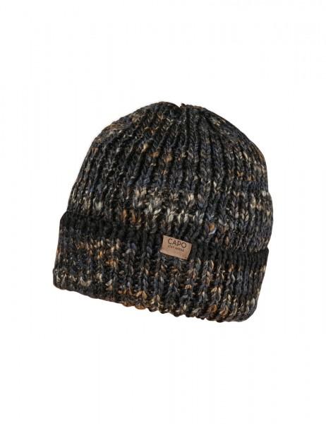 CAPO-WONDER CAP, TURN UP short fleece lining