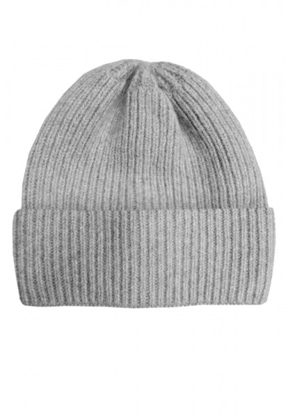 CAPO-DOUX CAP knitted hat, 1/1 rib, no lining
