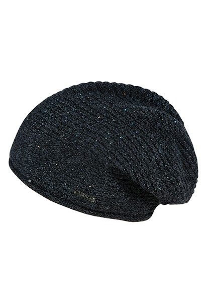 CAPO-GLITTER BERET double layer