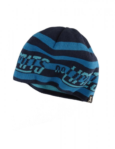 "KIDS BOY-Beanie, short ""NO LIMITS"", reversible"