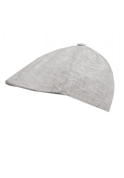 CAPO-LINEN FLAT CAP