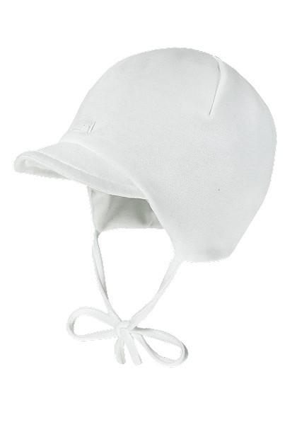 BABY-Mütze, Flatlock-Einsatz Schild