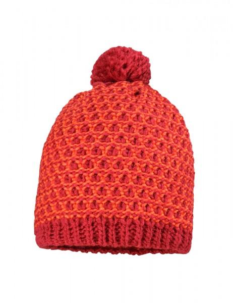 CAPO-ALYX CAP knitted cap, wool pompon, short fleece lining