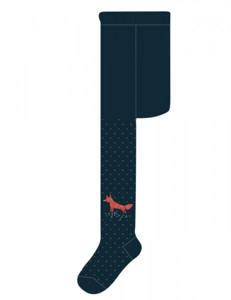 BABY BOY-Strumpfhose Fuchs, glatt
