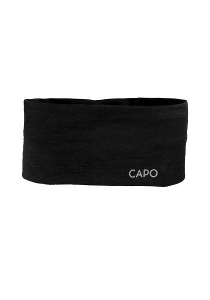 CAPO-WOOLJERSEY HEADBAND merino wool