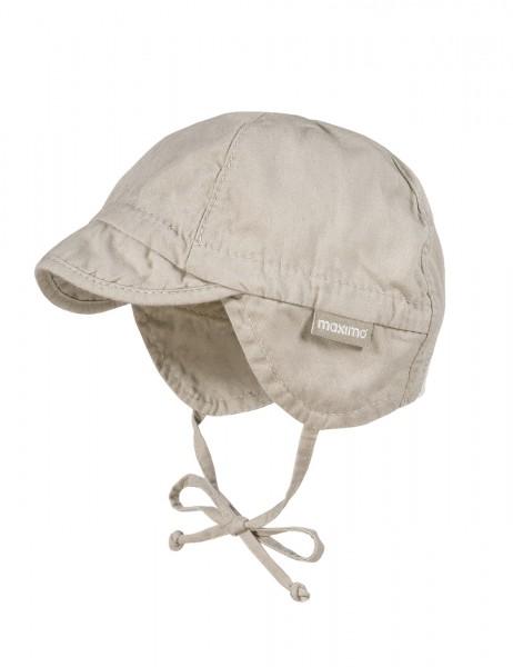 BABY-Schildmütze Jerseyeinsatz, Bindeband, Waschoptik