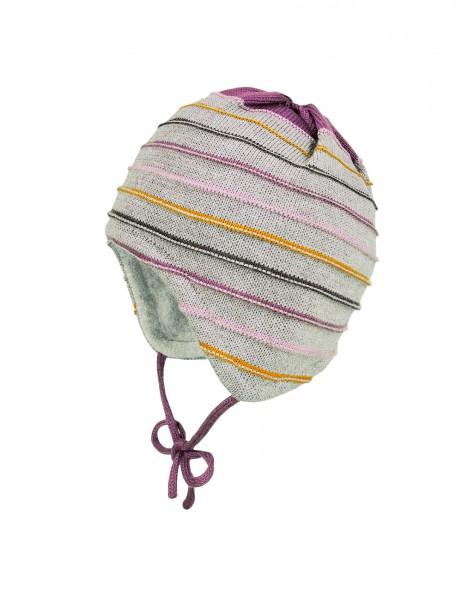 BABY-Mütze, ausgenäht LL-Ringel