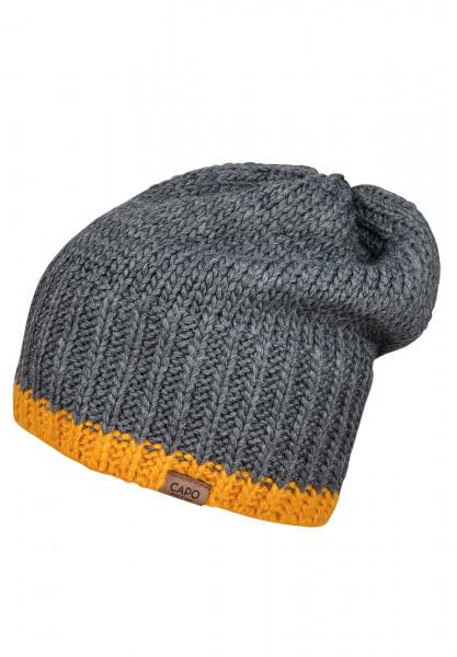 CAPO-KEELIN CAP knitted cap, short fleece lining