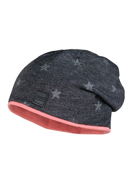 KIDS GIRL-Beanie, middle Sterne