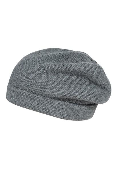 CAPO-BERET CAP cashmere touch