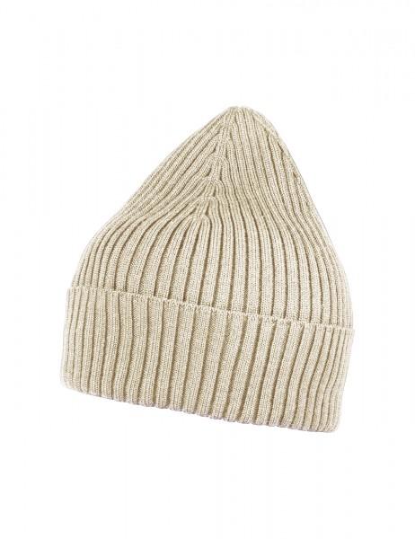 CAPO-LEAVEN CAP long, ribbed, turn up