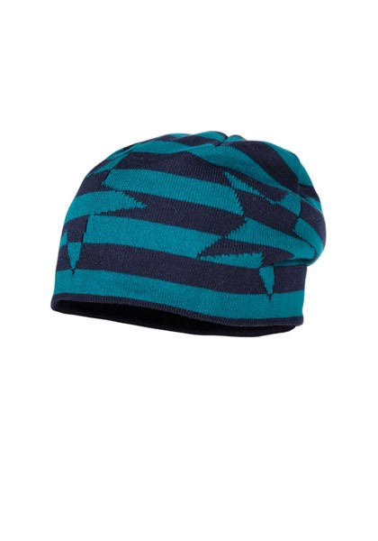 KIDS BOY - Beanie, reversible short, Blockringel, Sterne
