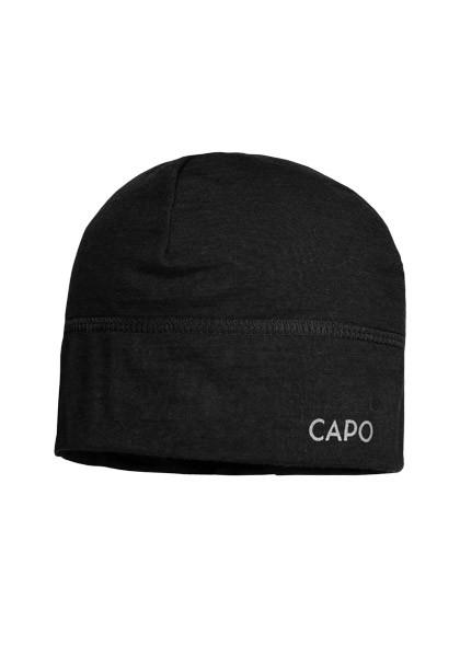 CAPO-WOOLJERSEY CAP merino wool