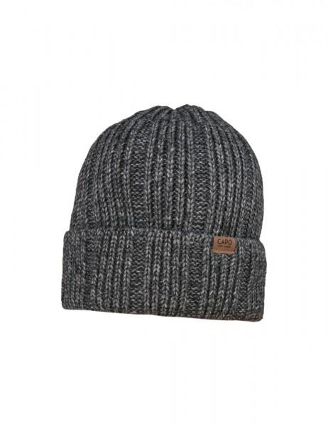 CAPO-ECO MEL CAP recycled yarn, short fleece lining
